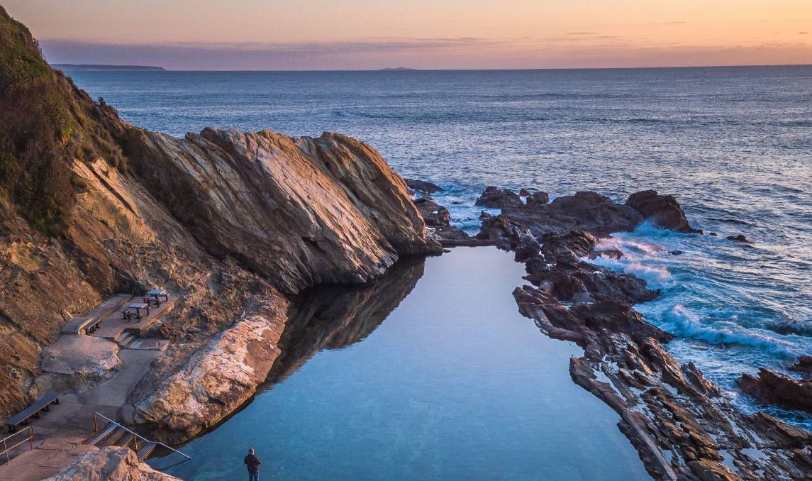 Blue Pool at Bermagui. Picture: David Rogers, supplied by Sapphire Coast Destination Marketing