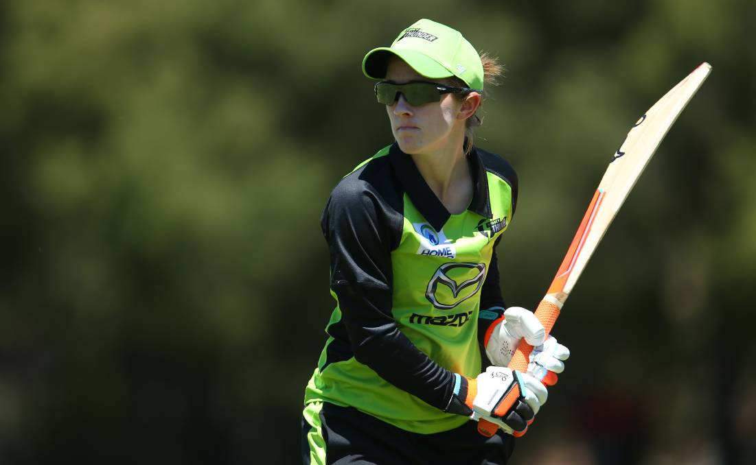 Rachael Haynes will captain the Sydney Thunder for a second straight season. Picture: Getty Images
