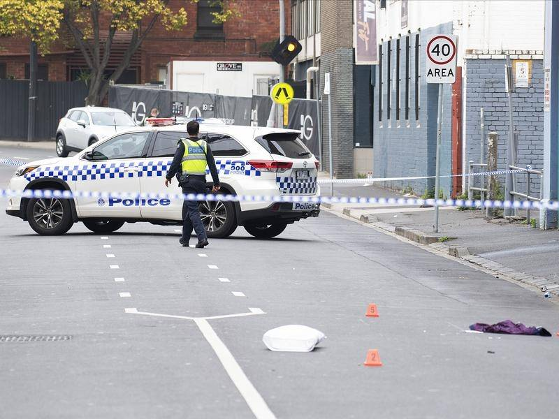 One man is dead and another in a critical condition after a drive-by shooting in Melbourne.