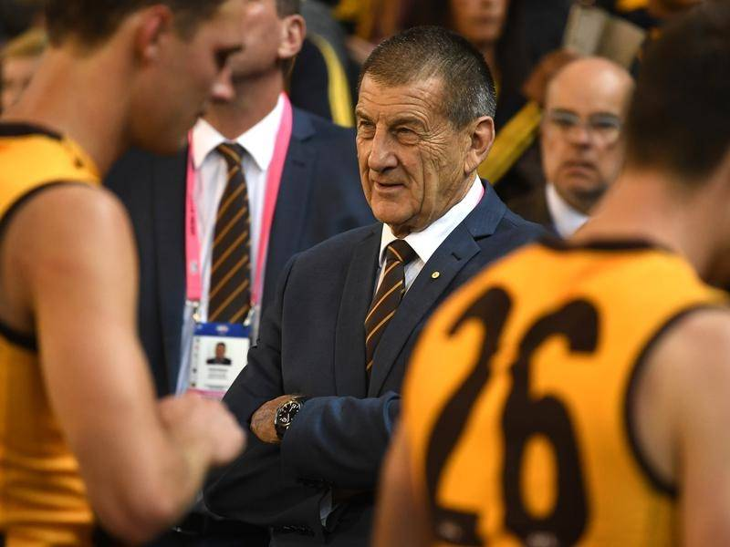 Jeff Kennett's second spell as Hawthorn president has been extended for at least another three years
