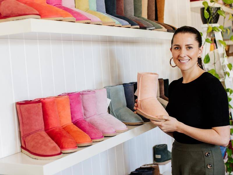 Consumer desire to buy Australian has been COVID-19 silver lining for Hannah Watts' UGG Since 1974