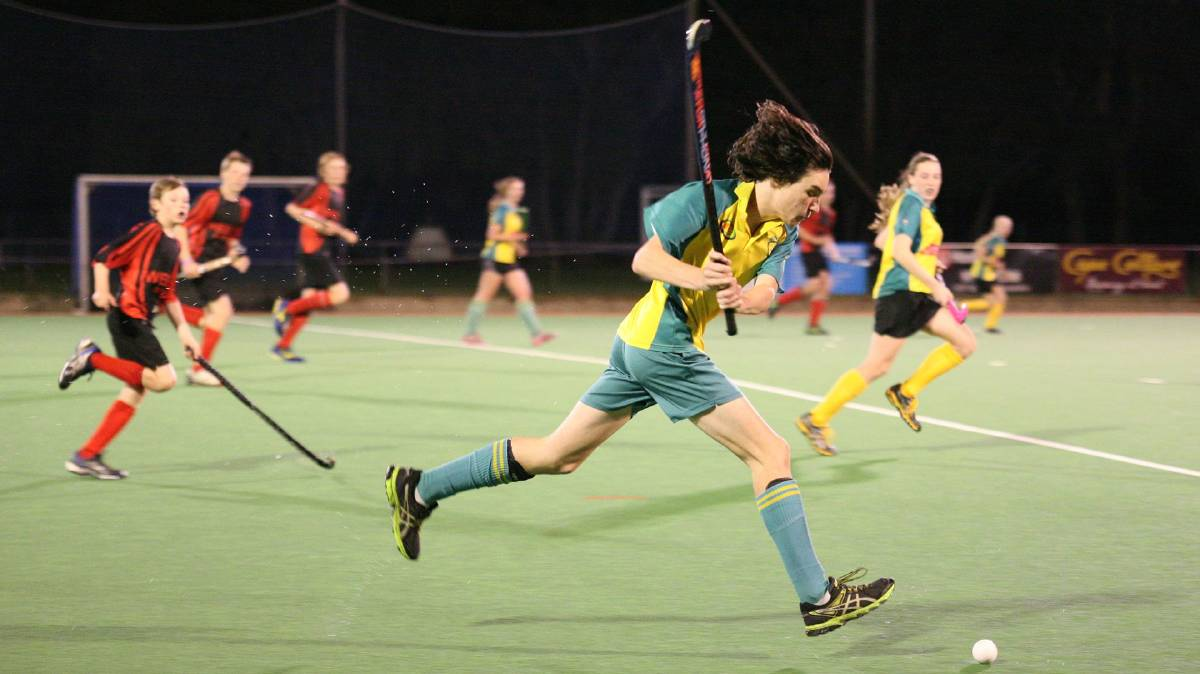 Training for this hockey season will now be held at the lower Western Pavilion oval at Gloucester Park. Photo - MRHC
