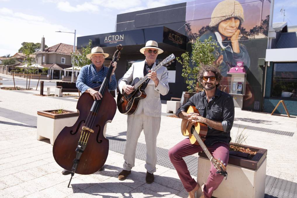 Musicians Gary Burke and Scott Wise from Burke and Wise, and Fred Freddy Reidy are among the line-up of local acts set to perform. Photo - Supplied